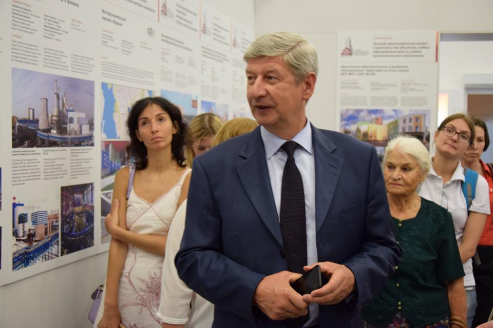 Сергей Лёвкин: Главное - не только построить, но и преподнести проект