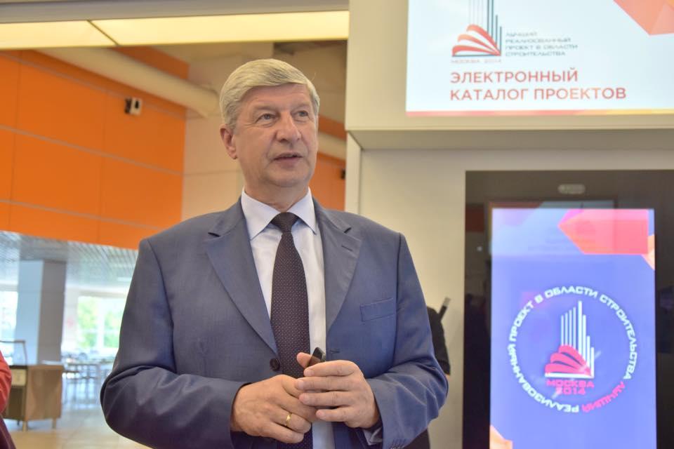Сергей Лёвкин открыл выставку Конкурса «Лучший реализованный проект в области строительства» на ВДНХ