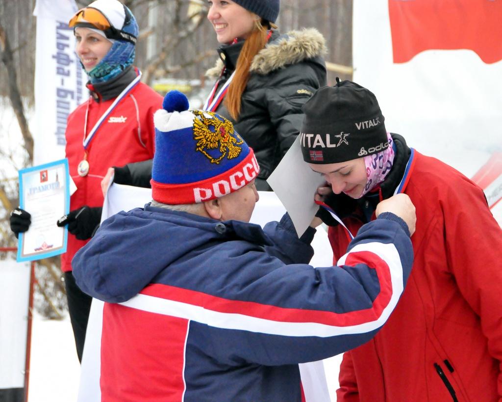 В Москве строители открыли лыжный сезон