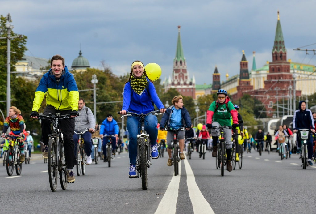 Московский Велопарад проведут в столице 28 мая 2017 года