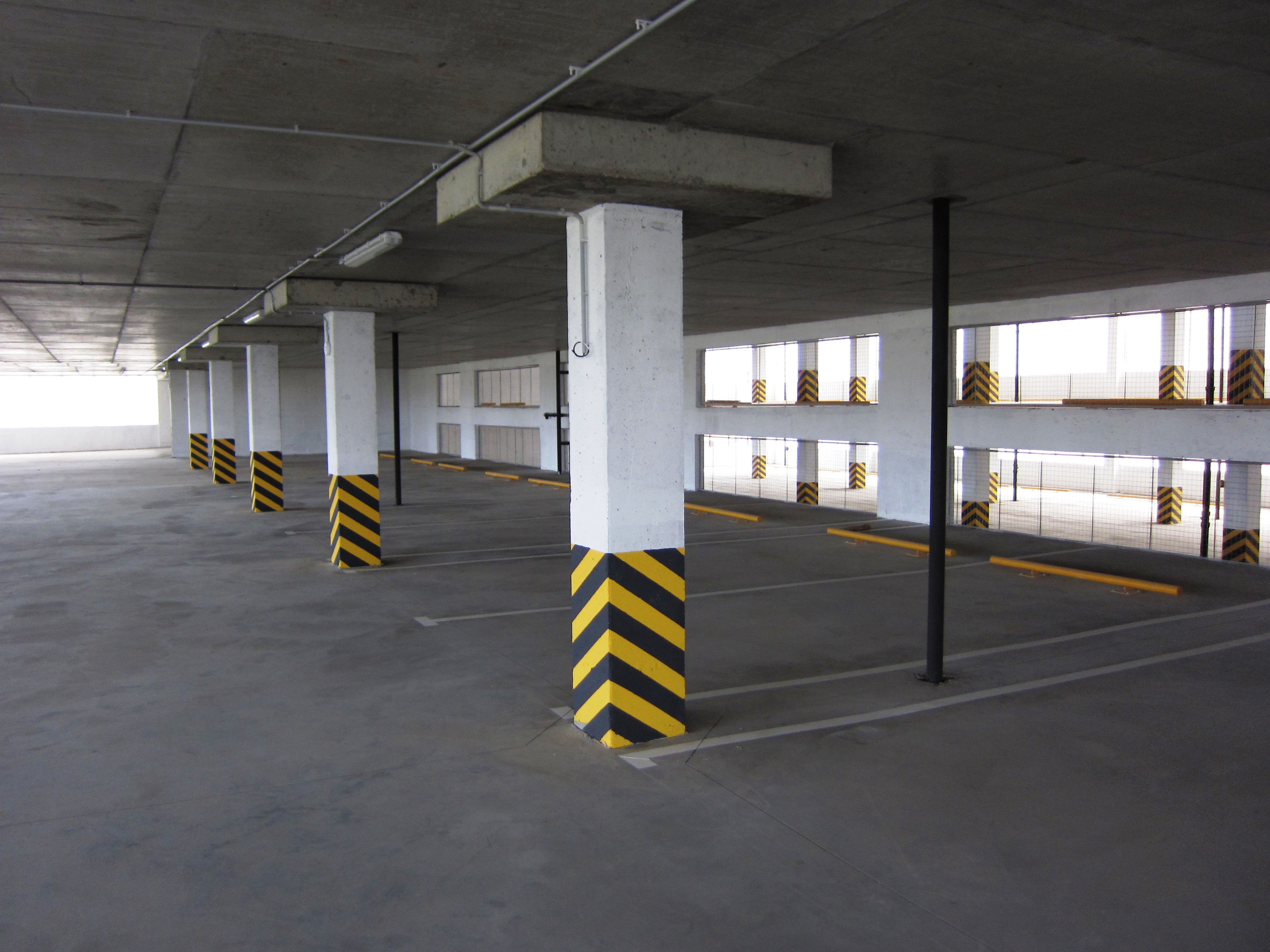 12-й многоуровневый паркинг открыт для паркования в СВАО