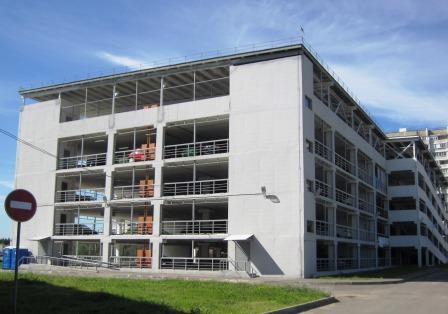 Многоуровневый гаражный комплекс введен в эксплуатацию на юге столицы